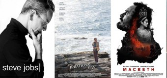 "Filmkritiken zu ""Steve Jobs"", ""Irrational Man"" und ""Macbeth"""