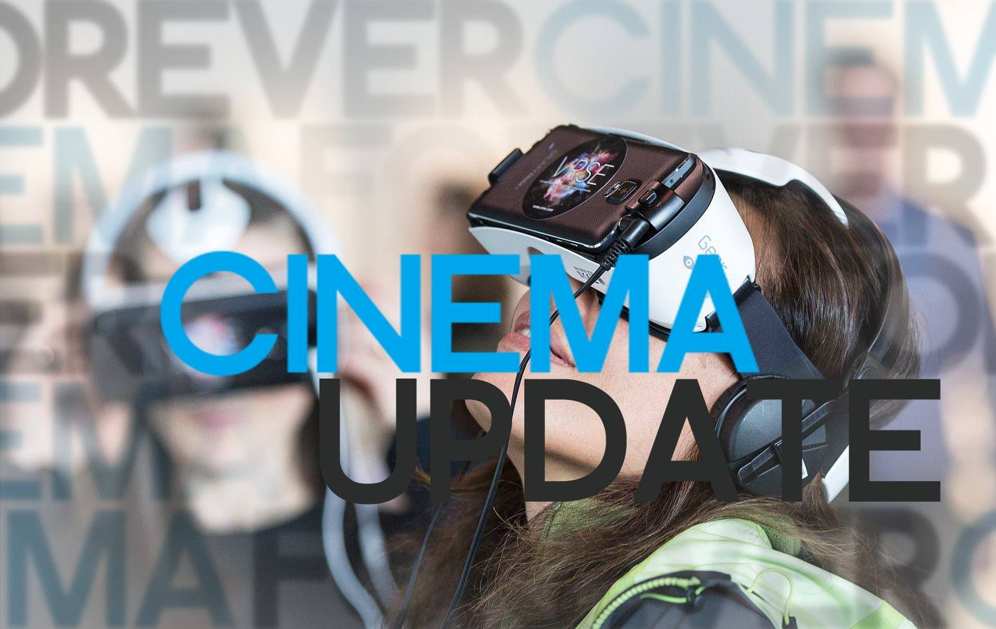 Podcast: Cinema Update #13 – Bond, Captain Marvel & Virtual Reality