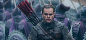 Matt Damon bewacht die chinesische Mauer im ersten Trailer zu The Great Wall