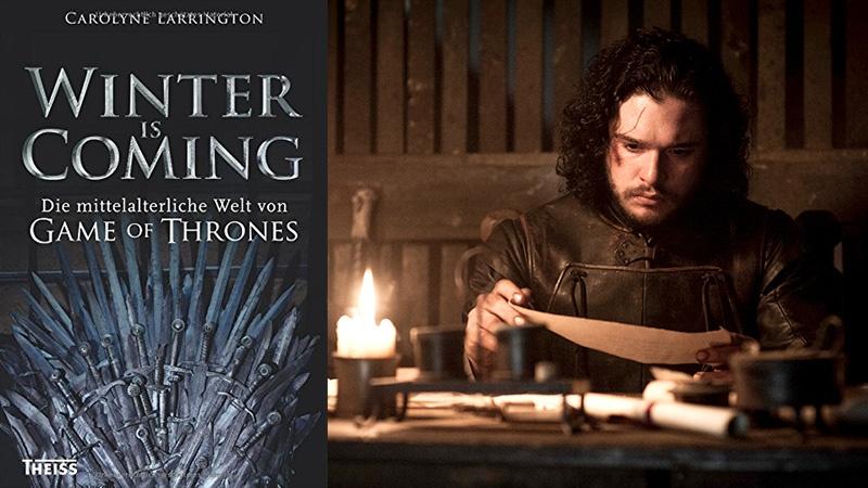 Selbst Jon Snow ist schon fleißig am Lesen