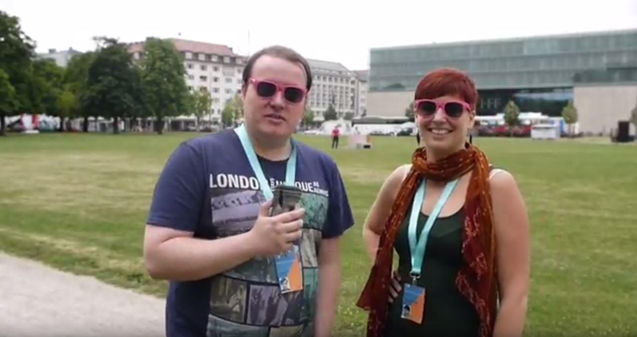 Video: Unsere ersten Vlogs vom Filmfest München 2017