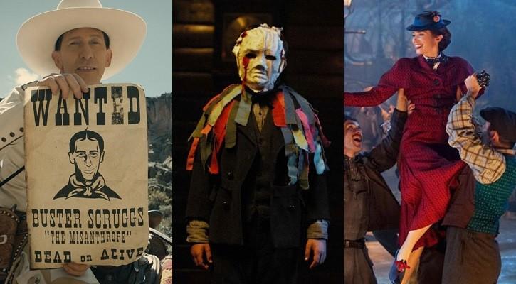 Filmtrailer der Woche – u.a. Marry Poppins' Rückkehr, Apostle und der neue Coen-Western